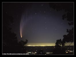 Comet McNaught C/2006 P1, Mt Donna Buang, Victoria, Australia